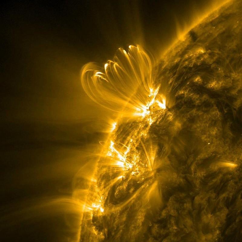 Процессы на Солнце | Лучшие фотографии в мире!