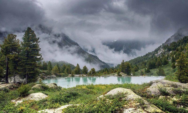 4 - Лучшие фотографии в мире - Озеро Дарашколь. Алтай (5 фото)