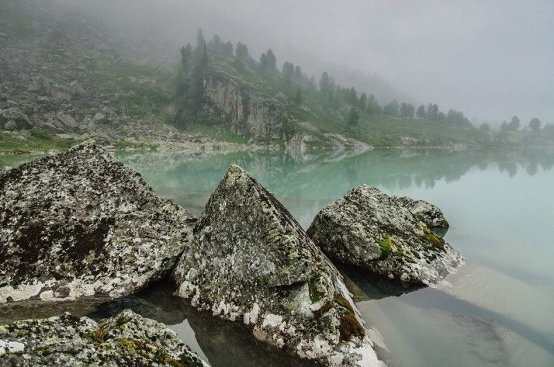 5 - Лучшие фотографии в мире - Озеро Дарашколь. Алтай (5 фото)