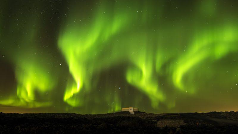 Прекрасное сияние Авроры, Норвегия, 3840*2160 пикселей, лучшие фото в мире