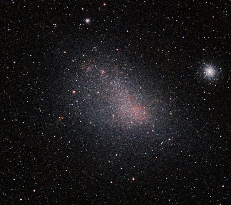 VISTA Sees Through the Small Magellanic Cloudu2019s Dusty Veil - Лучшие фото мира. Сборник лучших фото - Самый большой инфракрасный снимок Малого Магелланова Облака, 2550*2257 пикселей