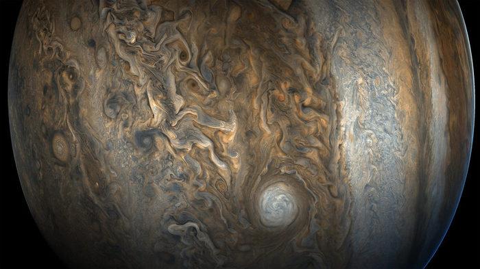 1510220370271319112 - Лучшие фотографии в мире - Великолепные снимки облаков Юпитера (11 фото)
