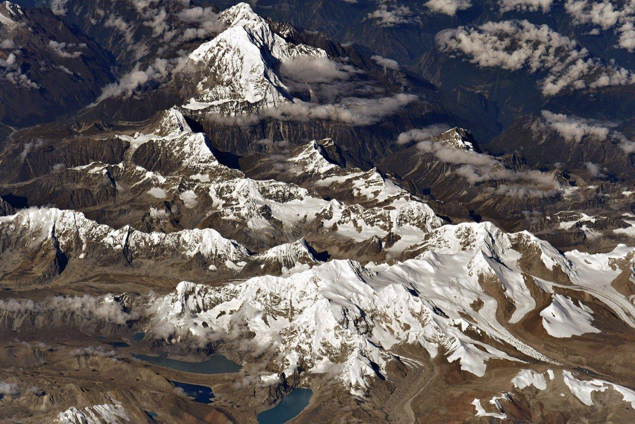 1537113856133052611 - Лучшие фото мира. Сборник лучших фото - Космический снимок самой высокой точки Земли